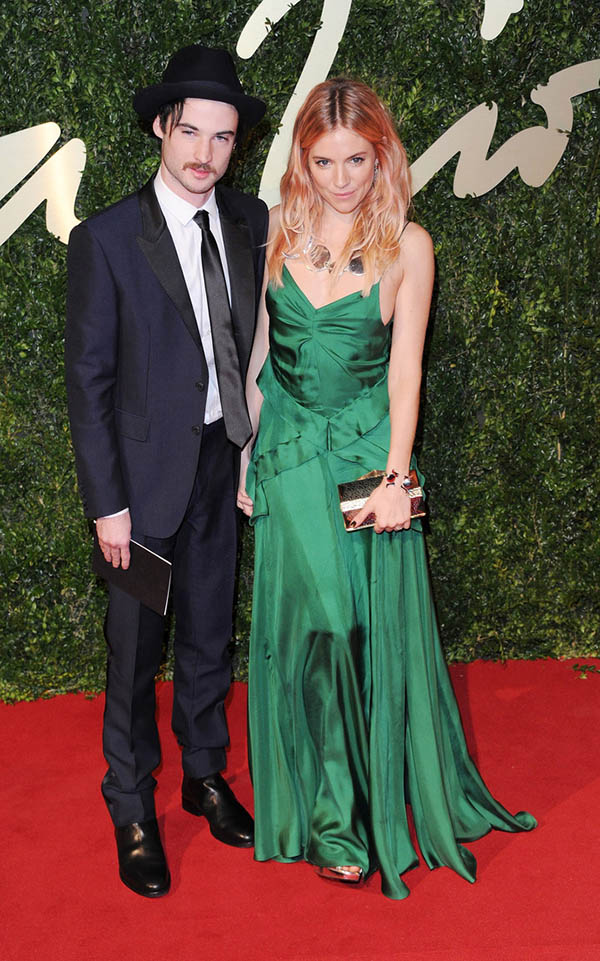 British Fashion Awards 2013 - Red Carpet Arrivals