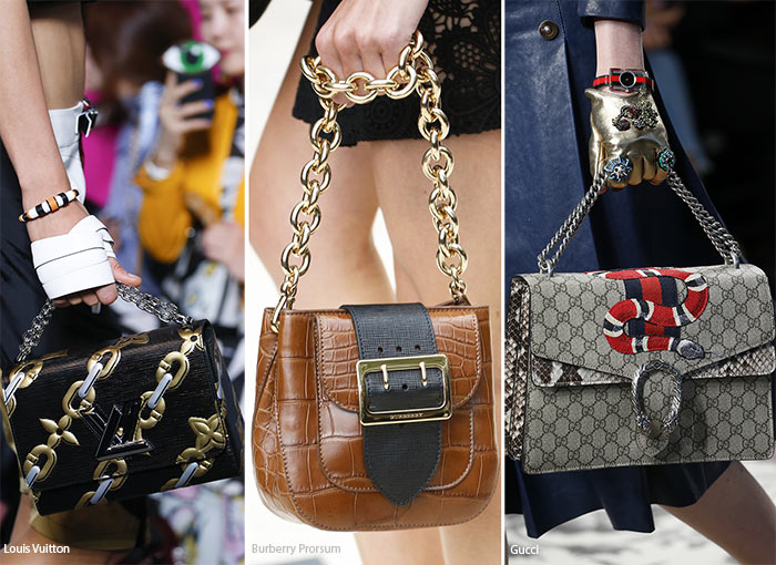2016 bag trends with chain straps