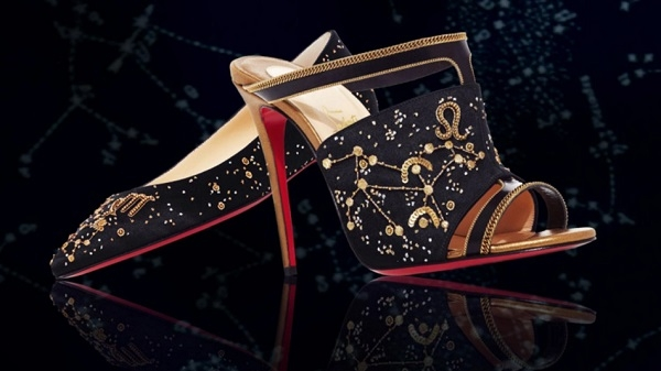 Christian Louboutin astrology inspired shoes