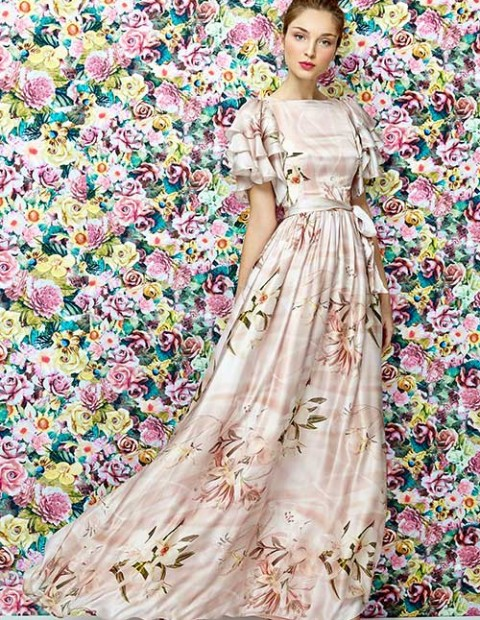 Dolores Promesas SS 2016 dress long