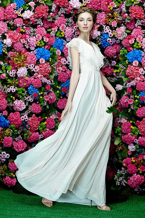 Dolores Promesas SS 2016 long dress