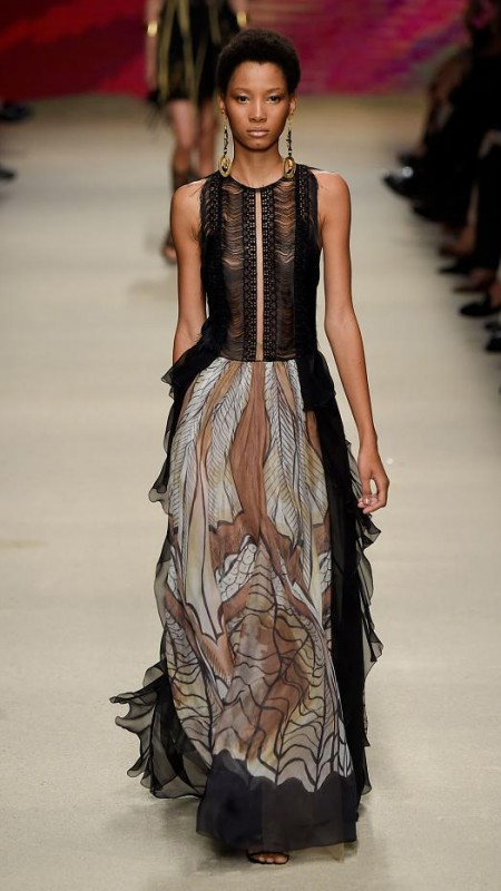 Alberta Ferretti posh dress 2016