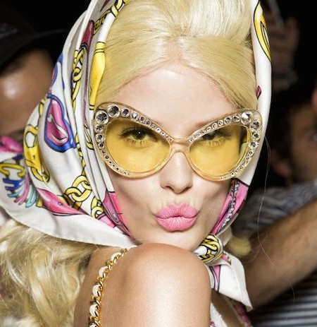 Yellow sunglasses for spring 2016