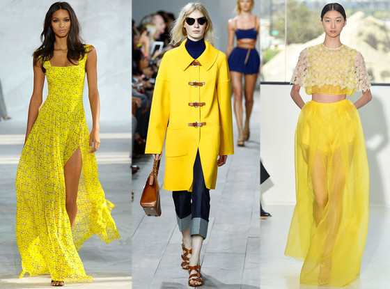 lemon color for spring 2016 fashion