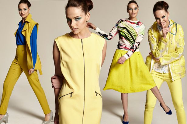 lemon color spring 2016 fashion
