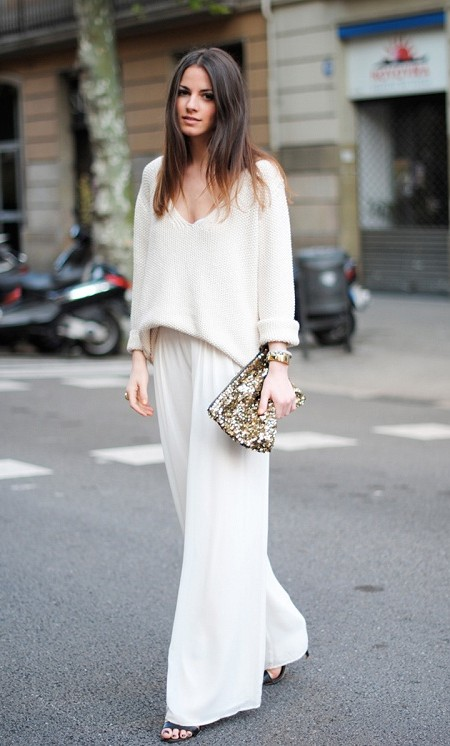 pure white color for spring 2016