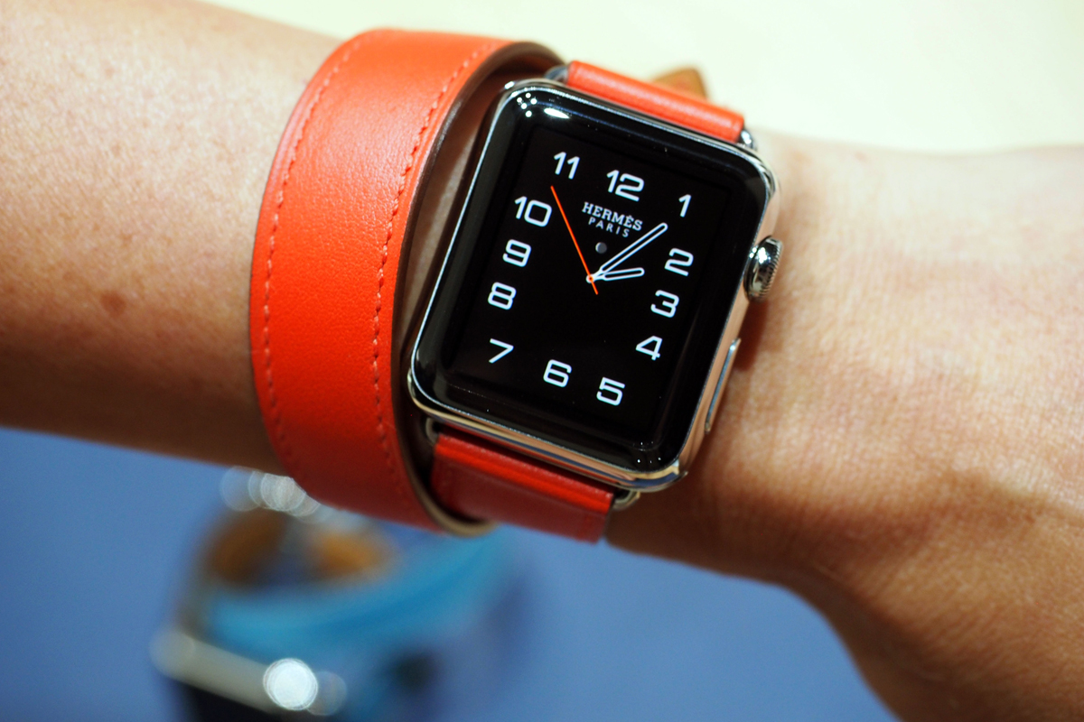 colorful Apple Hermes Watch
