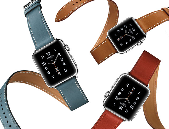 colorful Apple Hermes Watches 2016