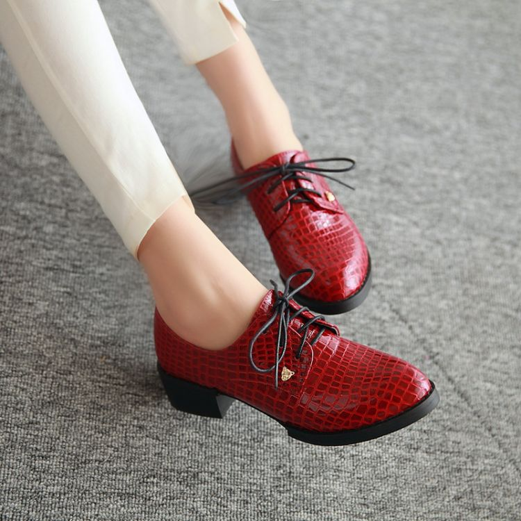 women fashion leather shoes for 2016