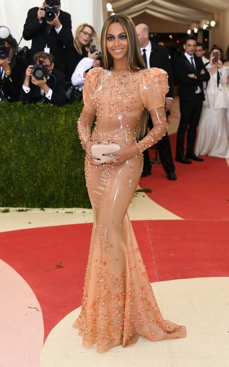 beautiful Beyonce Met Gala 2016