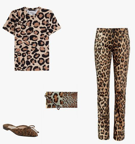 Leopard Printed Clothes