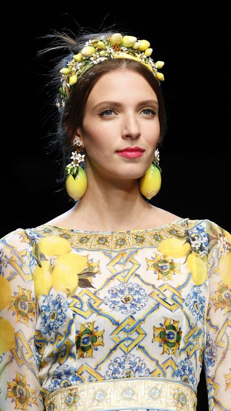 dolce and gabbana hair accessory 2016