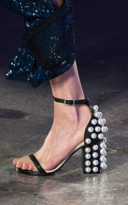 low heels 2016 shoes trends Pucci