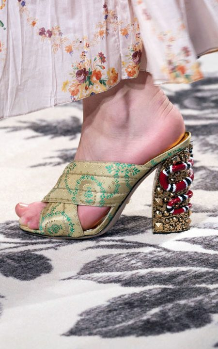 shoes mule romantic gucci
