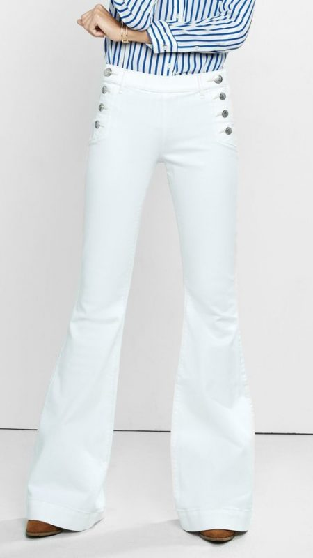 trendy white denim for 2016