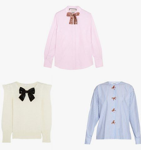 bow clothes for girls