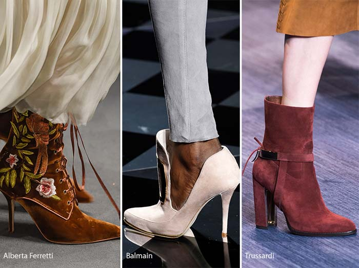 2016-2017 shoe trends suede shoes