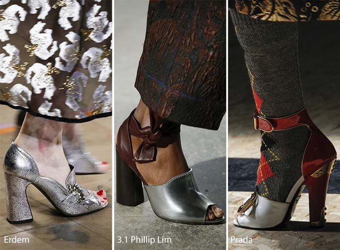 shoe trends peep toe shoes