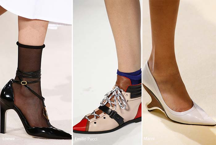 shoe trends pointy toe shoes