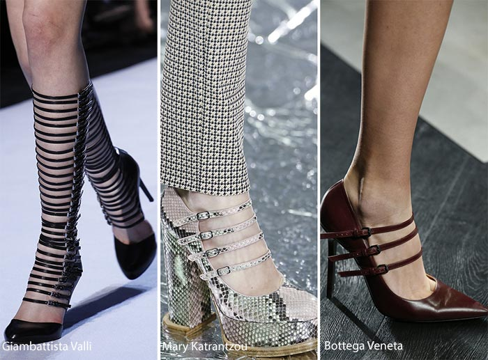 shoe trend shoe with multiple buckles