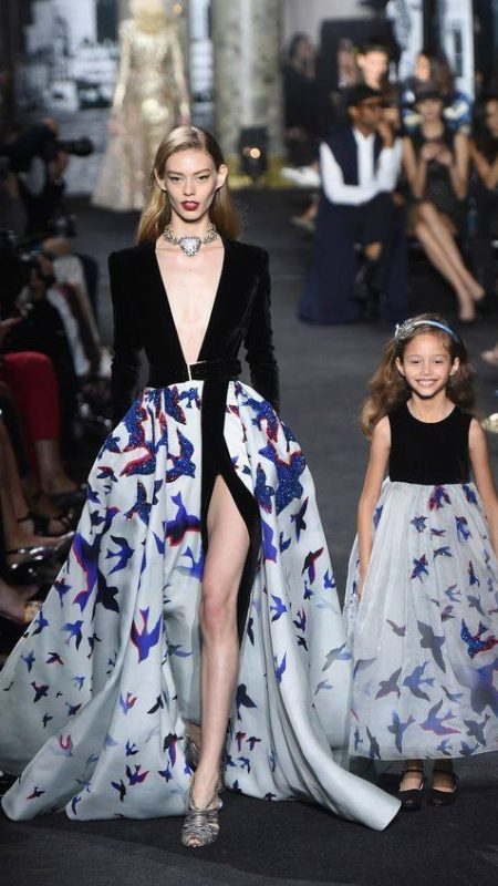 mother daughter collection Elie Saab