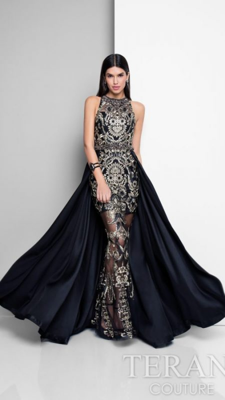 cool black evening dress