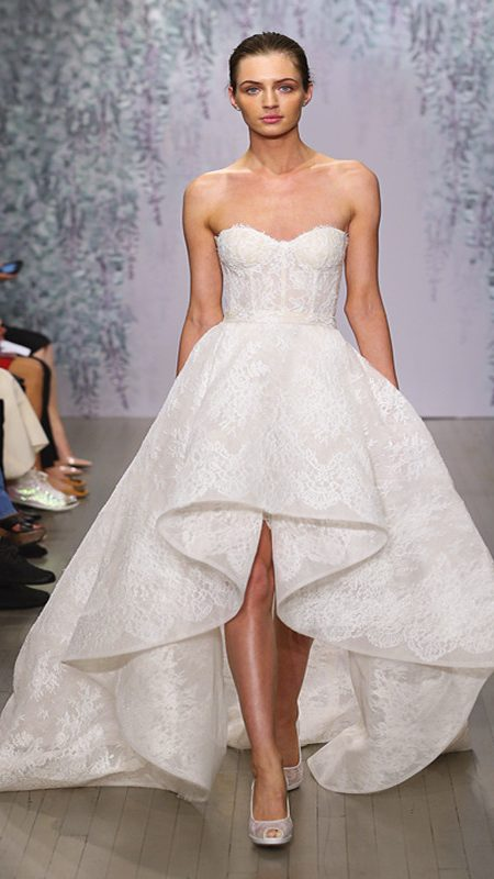 high low dress for brides