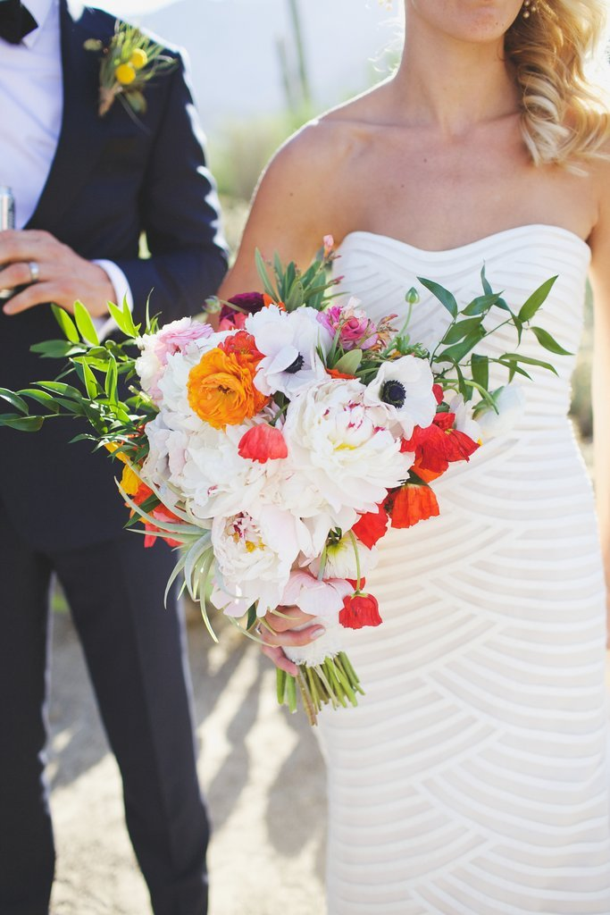 Tropical Bouquets wedding trend for 2017